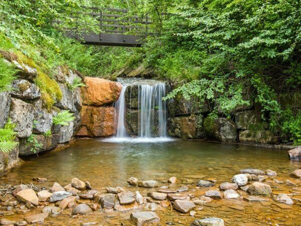 Cwm Clydach Countryside Park Waterfall