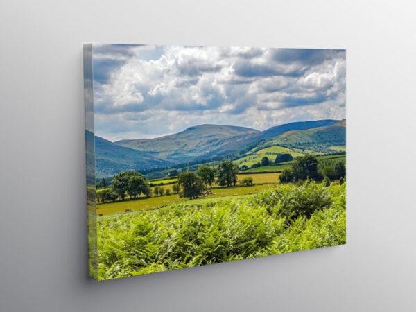 Fan Fawr Brecon Beacons Powys South Wales, Canvas Print