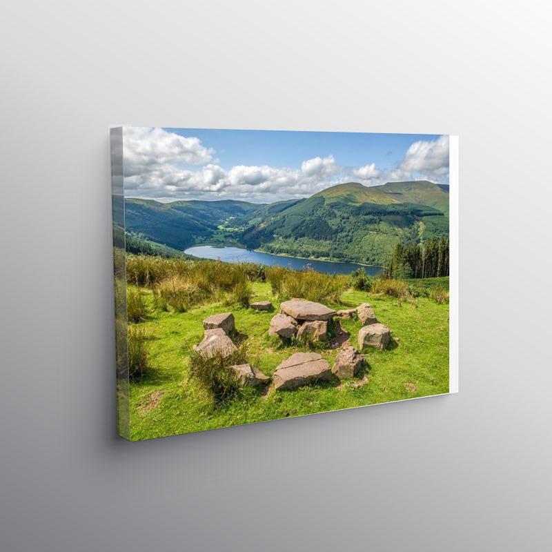 Talybont Valley Brecon Beacons, Canvas Print