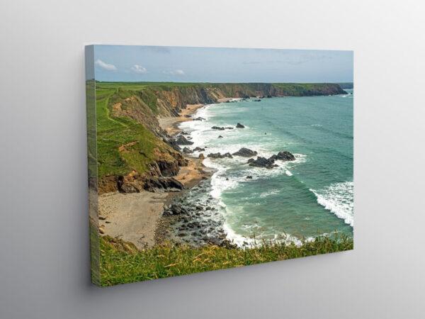 Marloes Beach Pembrokeshire, Canvas Print