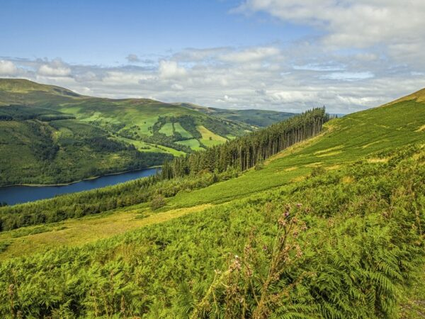 Talybont Valley Brecon Beacons Wales