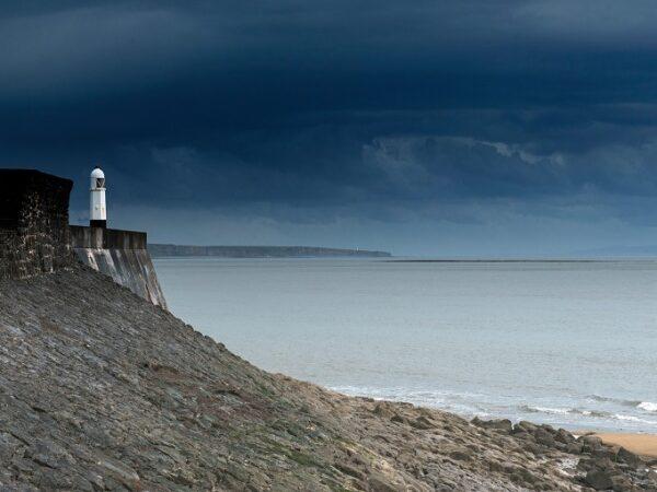 Porthcawl Lighthouse South Wales Coast