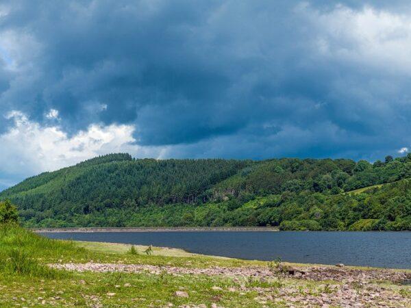 Talybont Reservoir in Summer Brecon Beacons