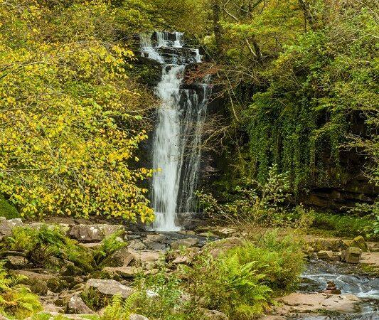 Blaen y Glyn Waterfall Brecon Beacons