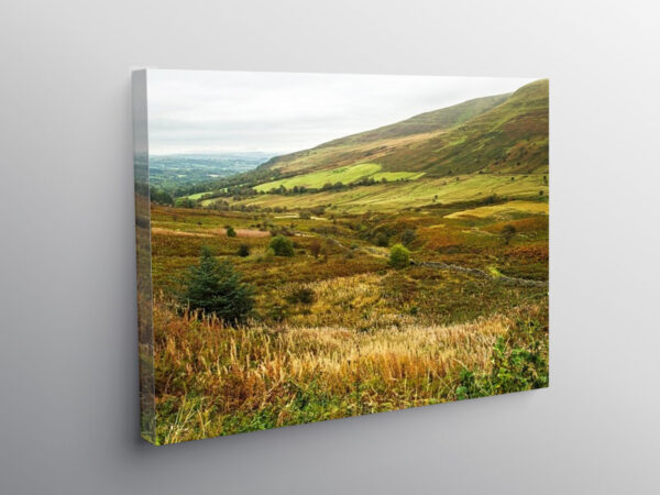 The Tarell Valley Brecon Beacons, Canvas Print